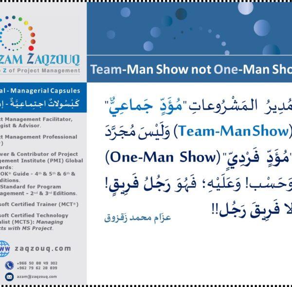 Team-Man Show